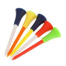 1pcs/5pcs Professional Plastic Ball Golf Tee Outdoor Sports Color 83mm Random X7D7