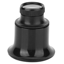 20X Jeweler Watch Repair Magnifier Portable Monocular Magnifying Glass Loupe for Eye Magnifier Lens