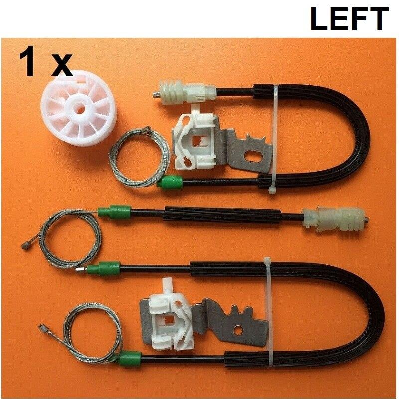Kit regulador de janela para nissan primera p12 elétrica janela regulador de reparação kit frente direita ou esquerda 2002-2007