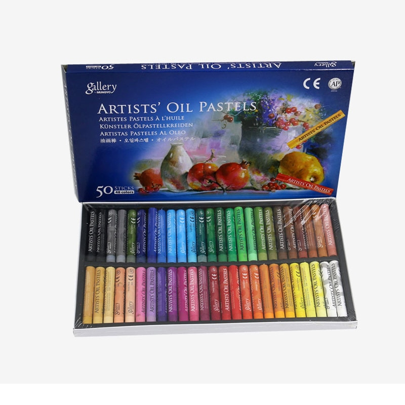 Professional Painting Colors Crayon 12/25/50 Graffiti Soft Oil Pastel Drawing Pen for Artist School Stationery Supplies enlarge