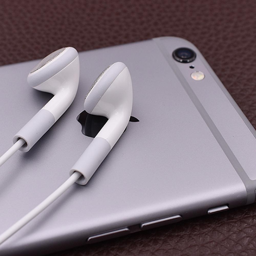 Auricular plano de 3,5mm en Auriculares auriculares para Xiaomi Huawei Samsung iPhone 6 6S 5 S Plus