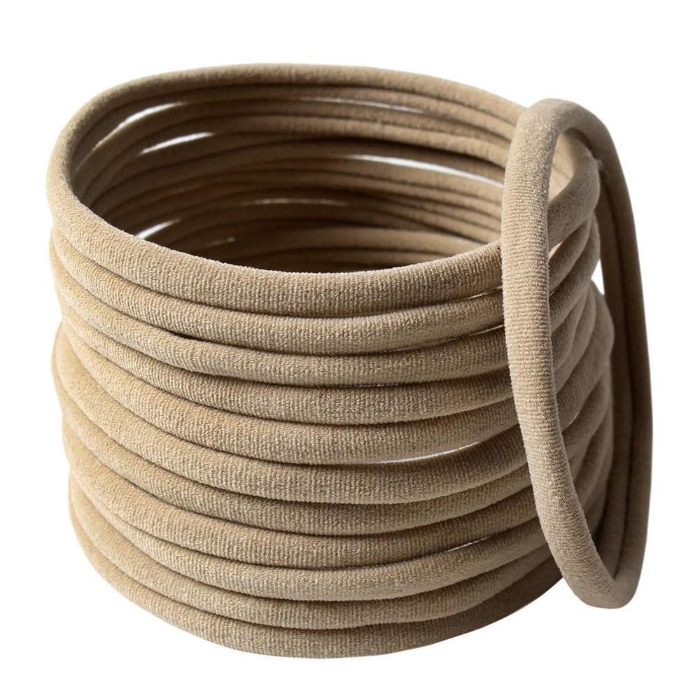 12 pçs/lote 2020 clássico sem costura forte elástico náilon bandana quente-venda diy acessórios para o cabelo da menina faixas de cabelo headwear
