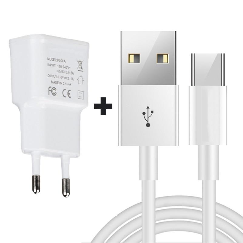 Micro USB cargador de pared para Leagoo M9 M8 P1 Pro Z7 Z6 Z5C T5c S8 T5 M7 M5 borde Kiicaa potencia 5 T1 Plus 1M de Cable USB a Micro USB