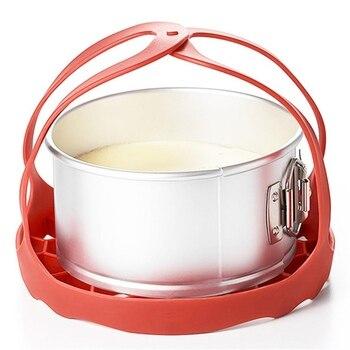 Silicone Food Steamer Steaming Rack Drawer Kitchen Folding Steamer Bowl Vegetable Fruit Steamer Basket Electric Pressure Pot