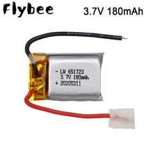 3.7V 180mAh Lipo Battery for Syma S105 S107 S107G S108 Skytech M3 m3 S977 Replacement Spare Parts fo