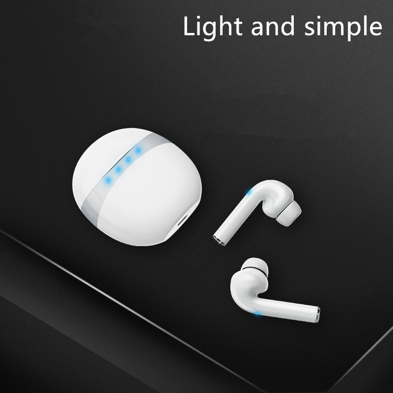 TWS M19 auricular inalámbrico Bluetooth 5,0 deportes impermeable música cabeza set 3D estéreo HIFI ruido para Huawei Xiaomi Iphone Samsung