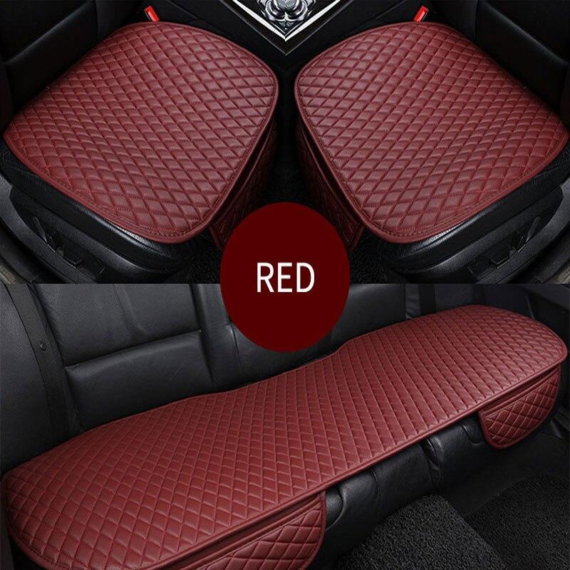 Fundas de asiento de coche, fundas universales para automóvil, fundas de asiento de coche, Fundas protectoras de cuero PU, accesorios de coche