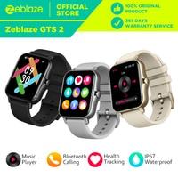 Новинка 2021, Zeblaze GTS 2, умные часы, музыкальный проигрыватель, прием/осуществление звонков, пульс, долгий срок службы батареи, умные часы для те...