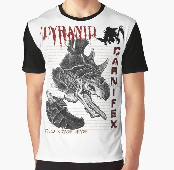 Camiseta con estampado 3D para mujer, camiseta divertida para hombre, camiseta gráfica con un ojo viejo y tirano