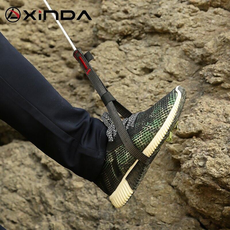 XINDA, альпинистское оборудование из полиэстера Dinima Ascender, ремень для устройства, оборудование для скалолазания, Профессиональная Регулируема...