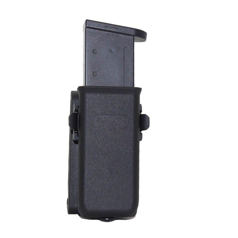 9mm Magazine Pouch for GLOCK 17 19 M92 M9 Colt 1911 Sig Sauer 22 .40 Pistol Mag Pouch Holster Gun Case Hunting Accessories
