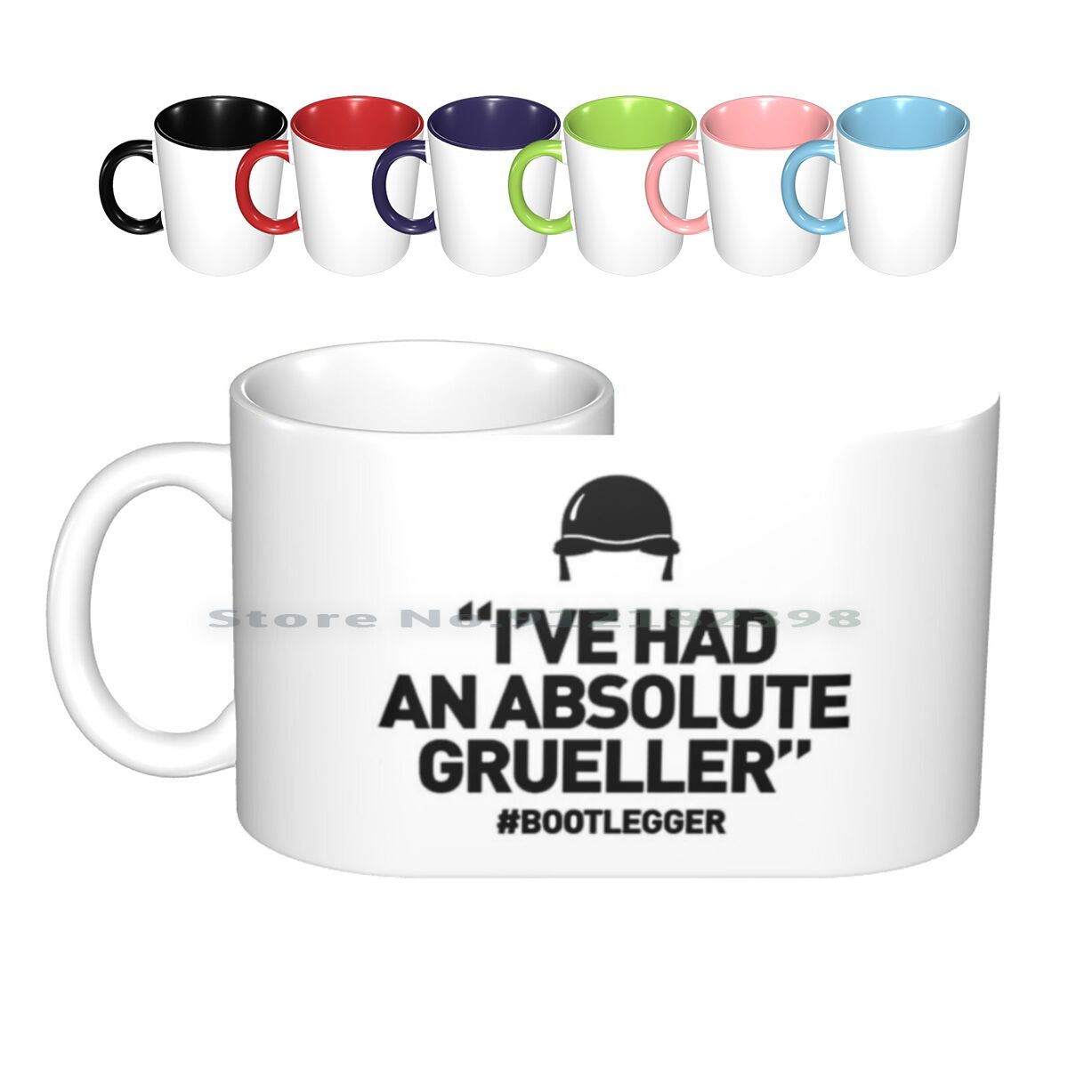 Bootlegger-I've Had An Absolute Grueller Ceramic Mugs Coffee Cups Milk Tea Mug Bootlegger Wrexham Afc Wales Beer Lager Cider