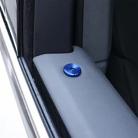 car door lifting decor ring for porsche cayenne panamera macan 971 911 9ya 718 universal auto door lock cover case shell cap