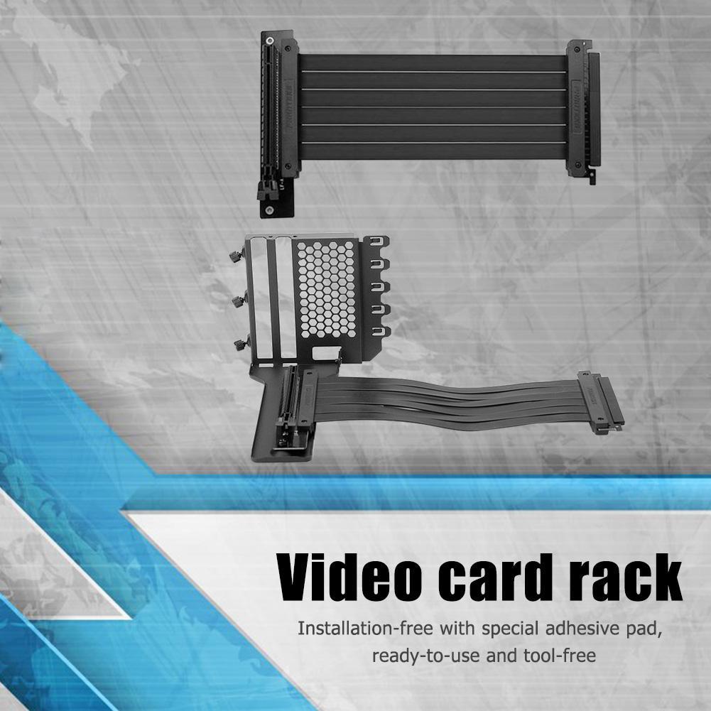 Suporte da Placa de Vídeo Case do Computador para Phanteks Suporte de Montagem para 7 Gráfica Suporte Vertical Desktop Case Extensão Pci Chassis