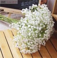 Fausses fleurs Gypsophila  90 52cm  fausses respirations  pour un Bouquet Floral  pour un mariage  une fete danniversaire  pour la maison