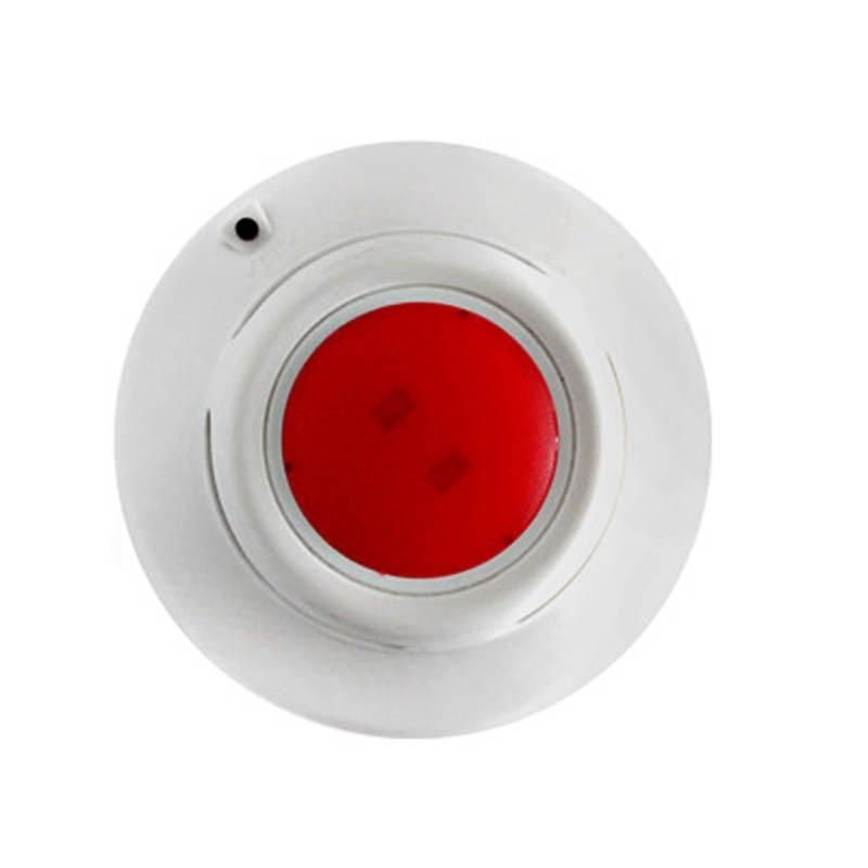Alarma de humo hogar independiente fotoeléctrico humo alarma cableada Detector de humo alarma Detector de humo ACJ-516
