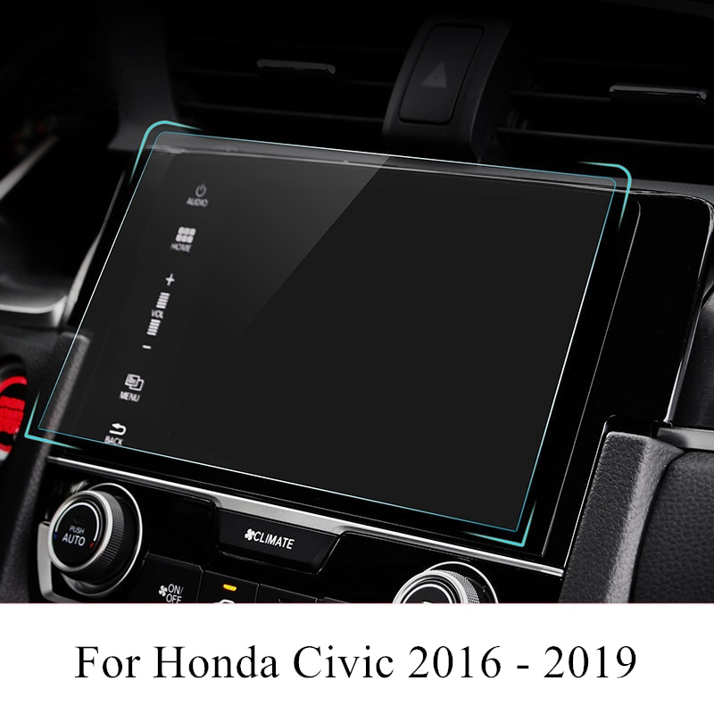 PET Auto Navigation Screen Protector Film GPS HD Anti-scratch Aufkleber Innen Zubehör Für Honda Civic 2019 2018 2017 2016