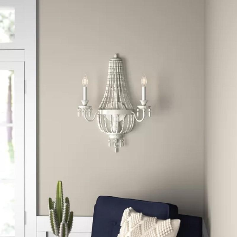 تخصيص البوهيمي ريترو خرز معدني الجدار مصباح أباجورة غرفة المعيشة دراسة الممر شخصية الإبداع