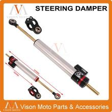 Universal Motorcycle CNC Steering Damper Bracket Stabilizer For HONDA Yamaha MT09 MT07 MT-07 MT-09 YZF R1 R6 FZ1 FZ-09 XJR1300