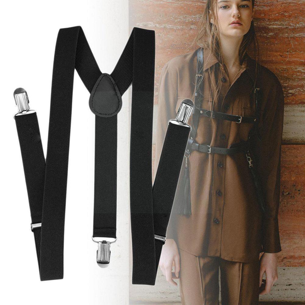 Подтяжки для мужчин и женщин, высокоэластичные регулируемые Y-образные подтяжки, подтяжки для брюк, рубашек, мужские подтяжки X7p6