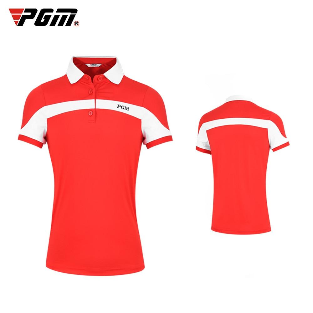 Летняя детская одежда для гольфа Pgm, одежда для девочек, спортивная форма, футболки с коротким рукавом, Детская рубашка для гольфа