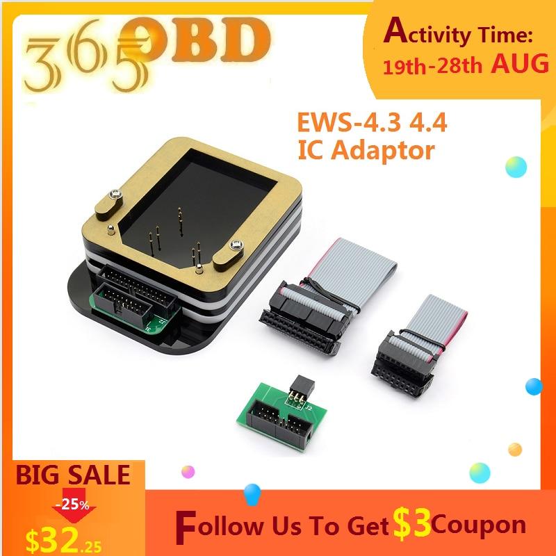 Ews Ic Adapter EWS-4.3 & 4.4 Ic Adapter Voor Bmw (Geen Behoefte Bonding Draad) voor X-PROG/AK90/R270 Programmeur EWS4 Adapter