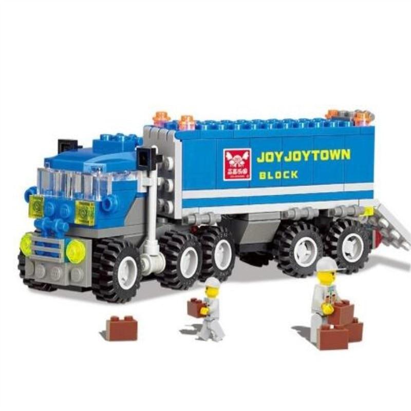 163 pièces déformées camion voiture blocs de construction jouet Kit éducatif bricolage enfants noël cadeaux danniversaire