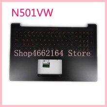 N501VW clavier dordinateur portable pour ASUS N501V N501VW UX501VW G501V VW bilingue clavier dordinateur portable cadre C boîtier externe avec rétro-éclairé