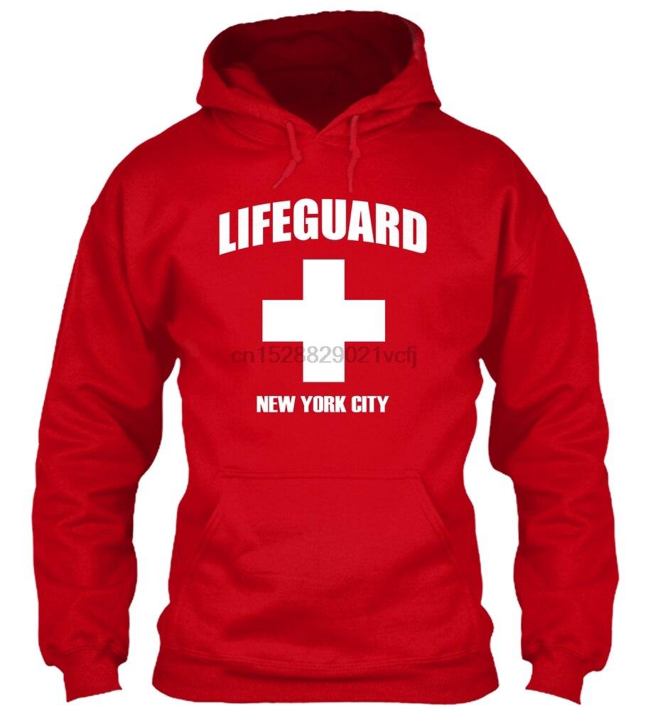 Sudadera con capucha de manga larga, con salvavidas, ahorro NYC, edición limitada, para hombre y mujer