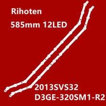 "For Samsung UE32H5303 UN32FH5203  32"" FHD LED Bar Backlight Strip Line Ruler D3GE-320SM1-R2 2013SVS32_FHD3228N1_B2_12"