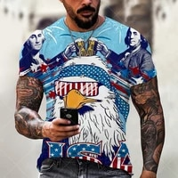 fashion route 66 america highway mens t shirt summer o neck short sleeve tops tees for man oversized t shirt vintage clothing