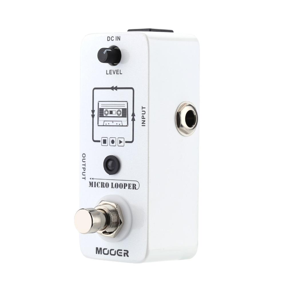 Mooer Mlp1 Micro Looper Pedal Guitar Synthesizer Loop Station for Electric Guitar Pedals Effector Unlimited 30 Min Recording enlarge