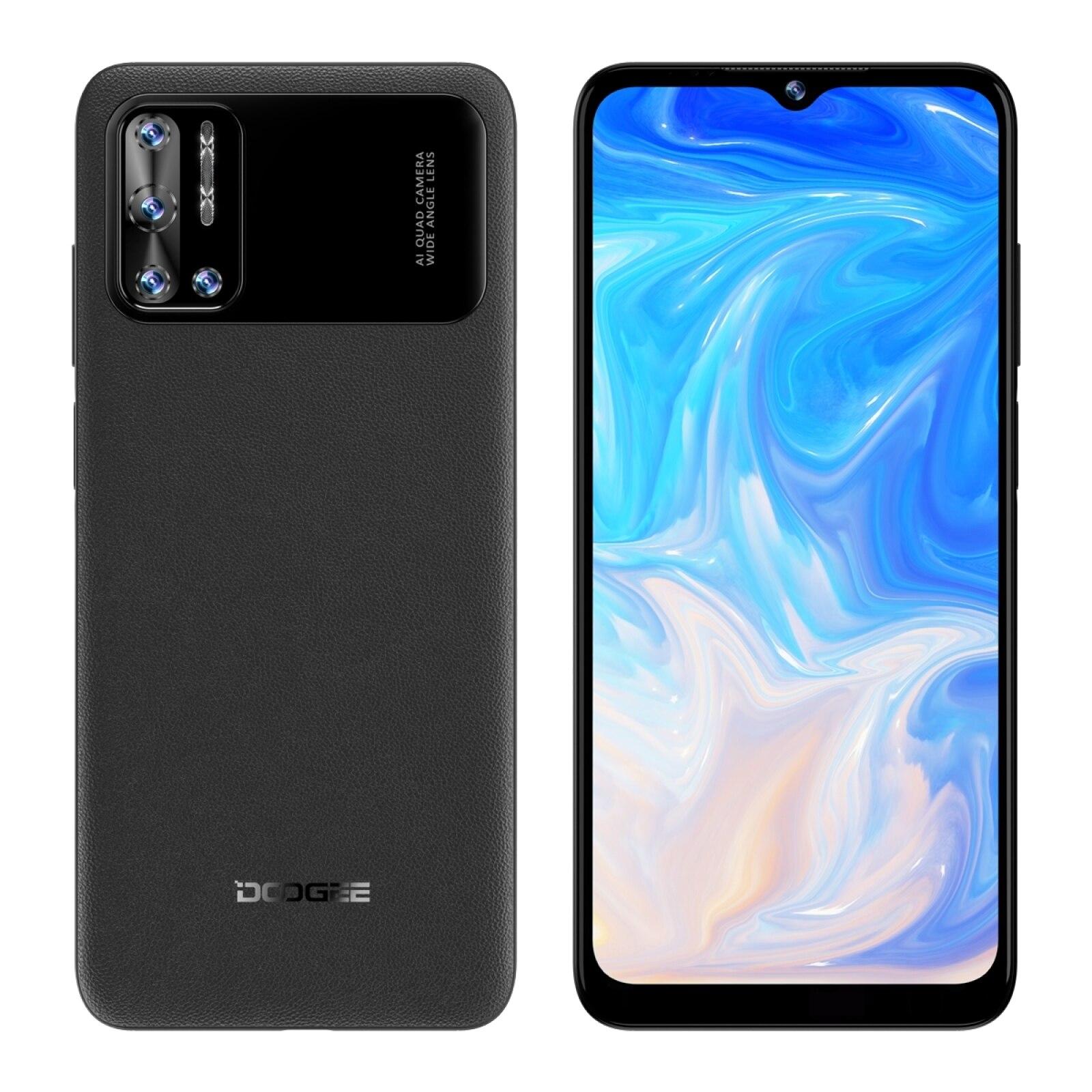 Перейти на Алиэкспресс и купить DOOGEE N40 Pro смартфон с 5,5-дюймовым дисплеем, восьмиядерным процессором Helio P60, ОЗУ 6 ГБ, ПЗУ 6,52 ГБ, 20 МП, 128 мАч, 24 Вт