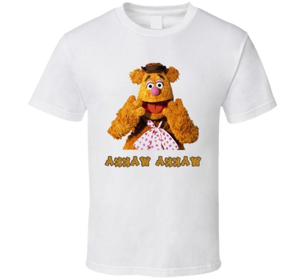 Fozzy Bear The Muppet Show camiseta Cool Casual pride camiseta hombres mujeres Unisex nueva moda camiseta tamaño grande top ajax 2018 divertido