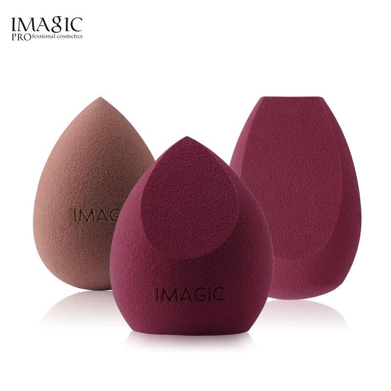 IMAGIC-Esponja aplicadora para maquillaje, accesorio para aplicar y mezclar maquillaje, suave, con...