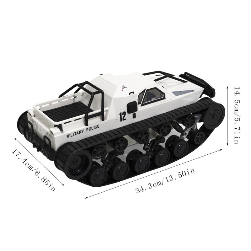 1/12 RC Tank 4WD 2.4G High Speed Drift Full Proportional Charger Battle Radio tank Control Vehicle Models Toys for Children enlarge