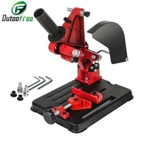 universal function angle grinder stand angle grinder bracket holder support for 100 125 angle grinder power drill accessories