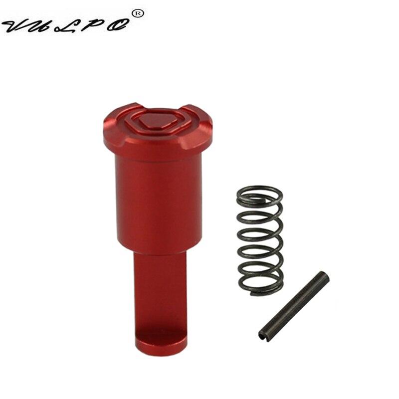 VULPO nueva táctica Airsoft CNC aleación de aluminio ligero adelante ayudar para la serie M4/M16 AEG Airsoft