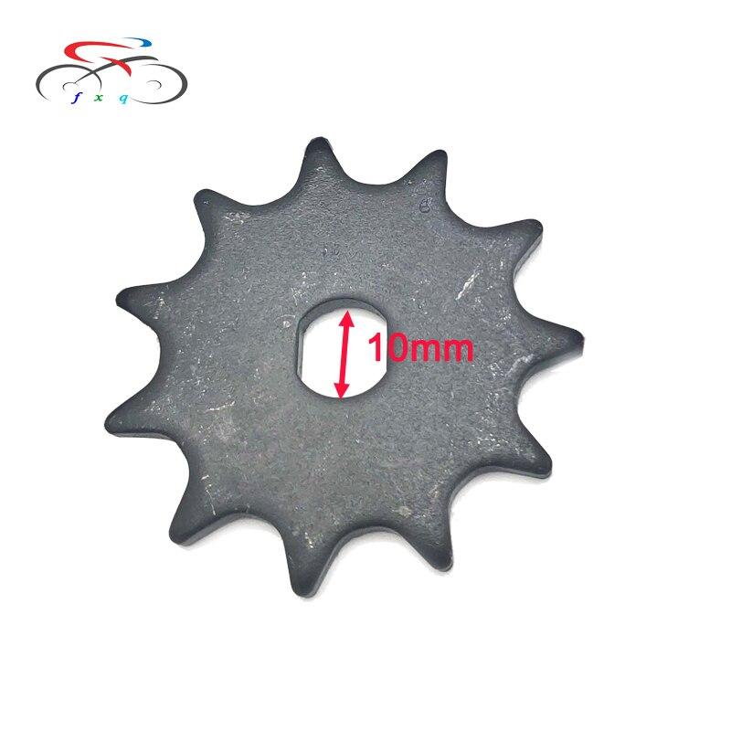 #410 11 t elétrica gokart scooter roda dentada engrenagem para a movimentação de corrente e bicicleta motorizada atv ciclomotor mini bicicletas my1020 pinhão