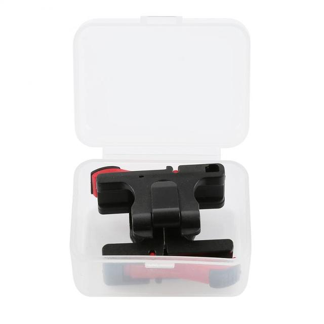 Phone Gamepad 1 PCS Trigger Shooting Aim Key Fire Button Aim Key L1R1 Shooter Game Controller PUBG FUT1 Mobile Phone 4