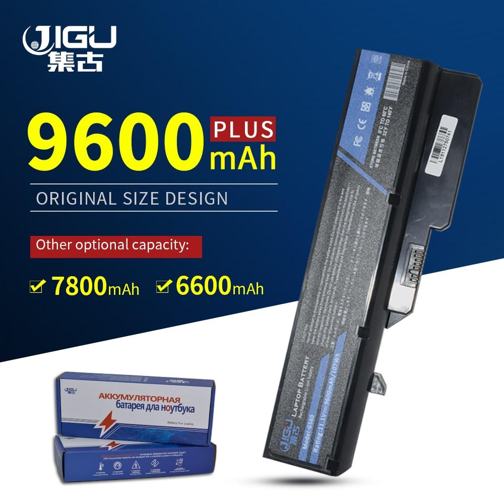 JIGU 7800MAH بطارية كمبيوتر محمول لينوفو IdeaPad G460 B470 V470 B570 G470 G560 G570 G770 G780 V300 Z370 Z460 Z470 Z560 Z570 K47