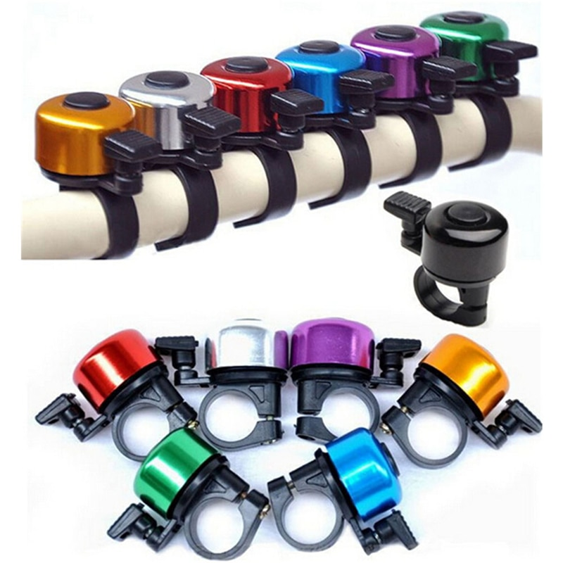 Aluminum Alloy Loud Sound Bicycle Bell Handlebar Safety Metal Ring Environmental Bike Cycling Horn Multi Colors 2017 недорого