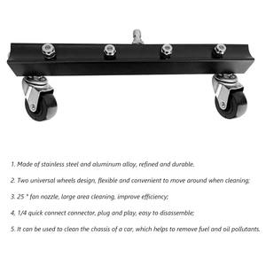 Image 5 - 13 дюймовый очиститель шасси, щетка для мытья воды с палочками, уличная Мойка под давлением, автомобильные противоударные ремонтные детали