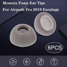 Produit le plus vendu en 2020 mousse à mémoire de forme écouteurs de remplacement pour Airpods Pro 2019 bouchons doreille casque livraison directe du fournisseur