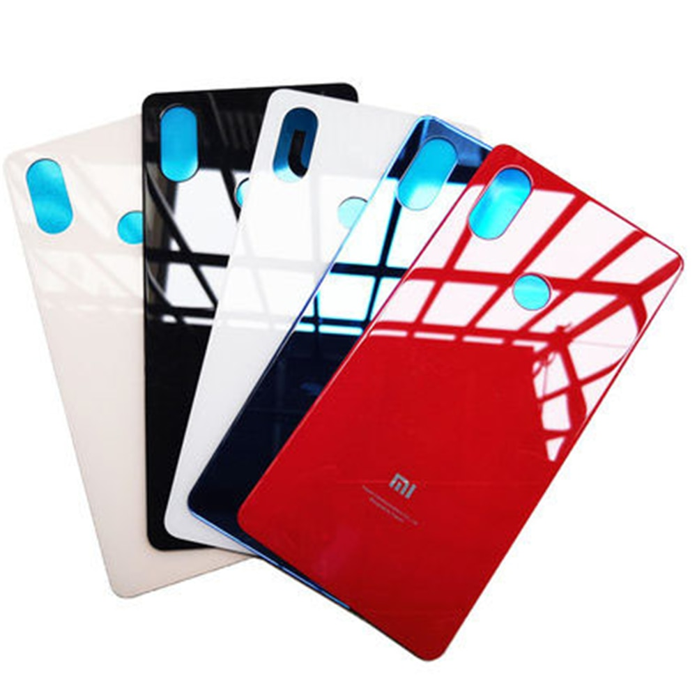 For Xiaomi Mi8 SE Mi 8 SE Phone Case Back Battery Cover Glass Rear Door Housing Cover Case Replaceme