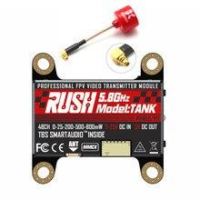 RUSH TANK 5,8G 48CH Smart Audio 0/25/200/500/800mW Umschaltbar VTX w/ Foxeer Lollipop 3 RC Drone Racing Freesstyle Nazgul5 X220S