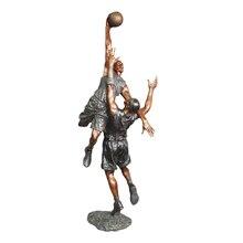 Statuette Hoopman pour le basket-ball   Sculpture occidentale, Sculpture de basket-ball, grande taille, décor dextérieur pour le jardin et la cour