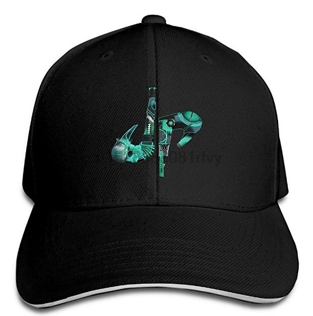 Gorra de béisbol ajustable Unisex con Logo perfecto DP Dude gorra de deportes sol