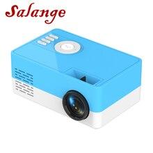 Salange J15 LED Projector, 320*240 Pixels Supports 1080P HDMI USB Video Beamer Home Cinema Media Player