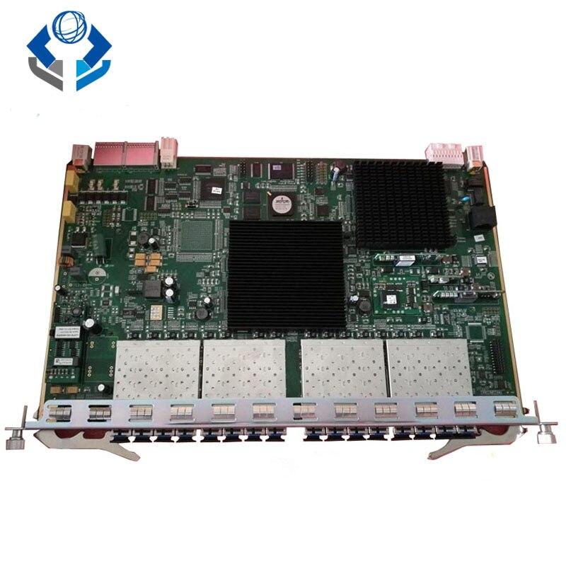 OLT pon مجلس 16 منافذ GPON GCOB مجلس مع 16 SFP وحدات ، GC0B تستخدم ل AN5516-01 AN5516-06 AN5516-04 OLT